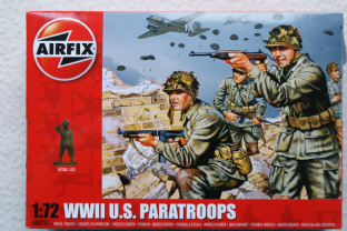 Airfix 1/72 AX00751 US Paratroopers (WW2)
